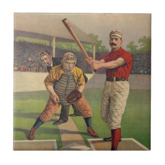 Teja del béisbol del vintage