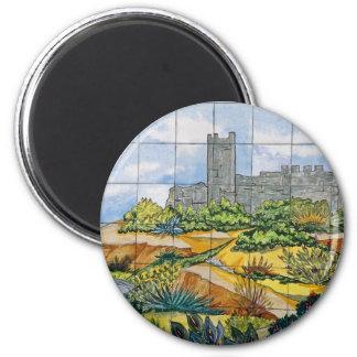 Teja del castillo de Fuengirola, Fuengirola, Málag Imán Redondo 5 Cm