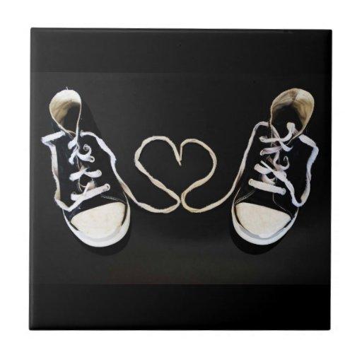 Teja del corazón y de los zapatos