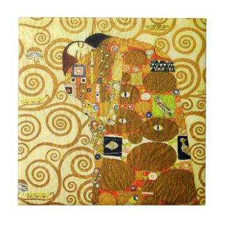 Teja del cumplimiento de Gustavo Klimt