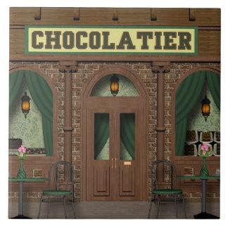 Teja del dibujo animado de la tienda del caramelo