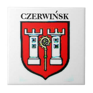 TEJA DEL ESCUDO DE LA FAMILIA DE CZERWINSK