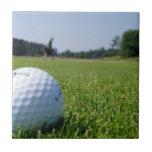 Teja del espacio abierto del golf