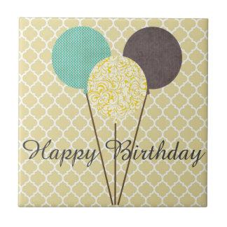 Teja del feliz cumpleaños
