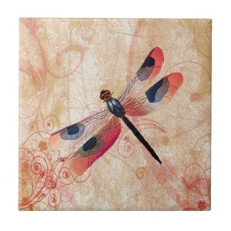 Teja del Flourish de la libélula