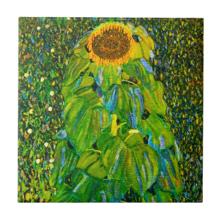 Teja del girasol de Gustavo Klimt