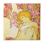 Teja del iris de Alfonso Mucha
