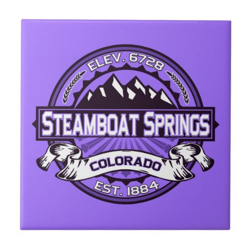 Teja del logotipo de Steamboat Springs