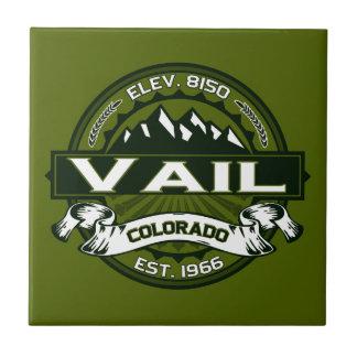 Teja del logotipo de Vail