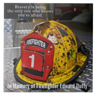 Teja del monumento del bombero