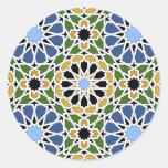 Teja del Moorish Etiquetas