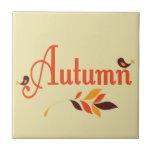 Teja del otoño