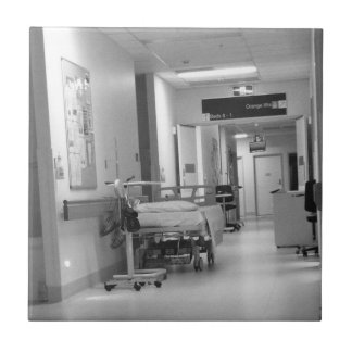 Teja del pasillo del hospital