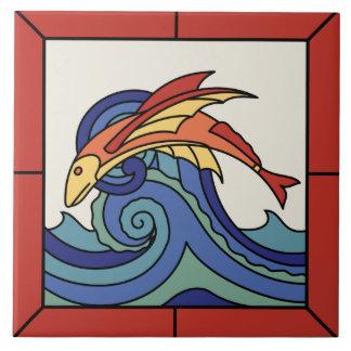 Teja del pez volador de la isla de Catalina con la