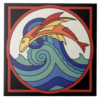 Teja del pez volador de la isla de Catalina del vi
