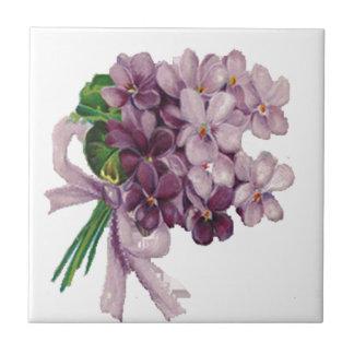 Teja del ramo del ramillete de flores de las viole