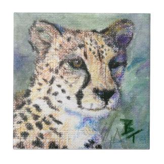 Teja del retrato del guepardo