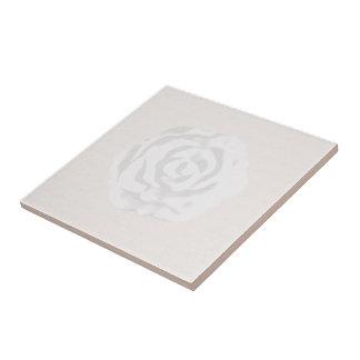 Teja del rosa blanco
