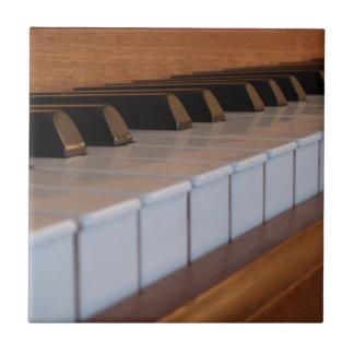 Teja del teclado de piano