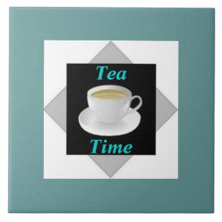 Teja del tiempo del té
