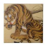 Teja del tigre de Ito Jakuchu