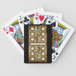 Teja doble-seis del dominó de los dominós del vint cartas de juego