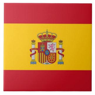 Teja española de la bandera