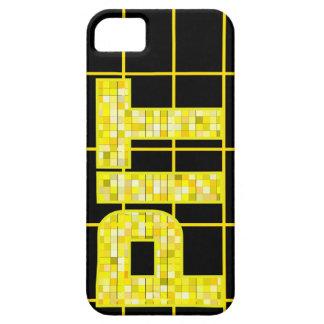 Teja estupenda de Pittsburgh para iphone5 Funda Para iPhone SE/5/5s