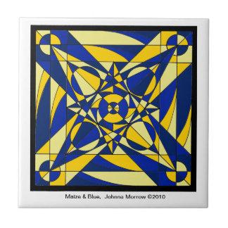Teja geométrica de la mandala