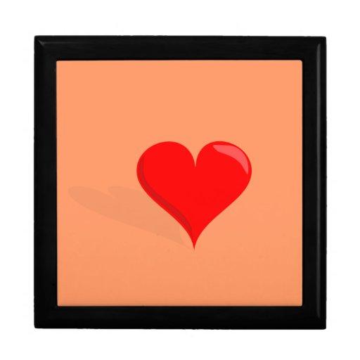 Teja Giftbox del el día de San Valentín Cajas De Joyas