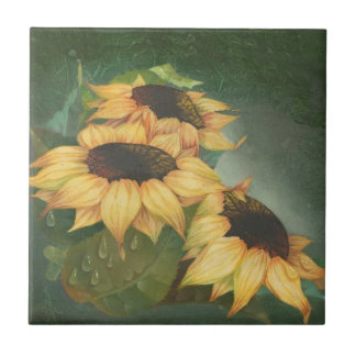Teja - girasoles por Doreta Y. Boyd