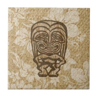 Teja hawaiana Trivet de la barra de Ku-Tiki Tiki