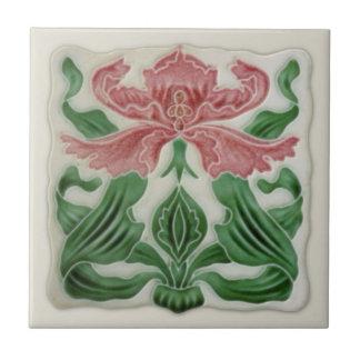 Teja inglesa c.1900 de Nouveau H.A.Ollivant del
