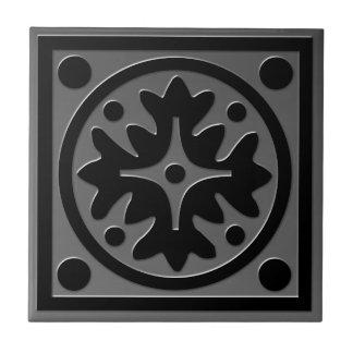 Teja inspirada céltica # 1 mirada gris del acero