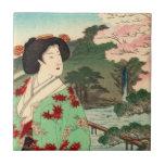 Teja japonesa del geisha