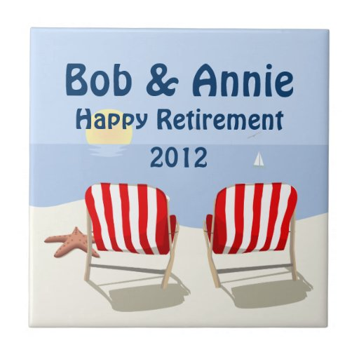 Teja jubilada Trivet de la silla de playa