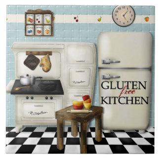 Teja libre de la cocina del gluten