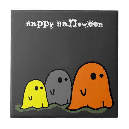Teja linda de los fantasmas de Halloween