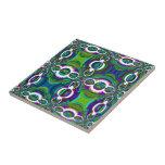Teja marroquí abstracta del diseño