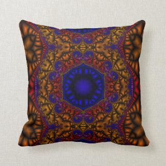 Teja marroquí almohadas