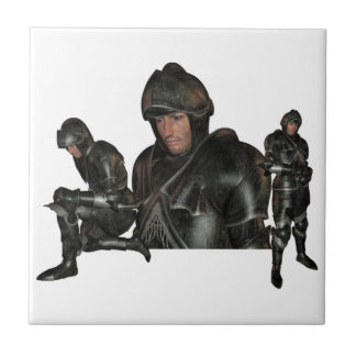 Teja medieval del guerrero