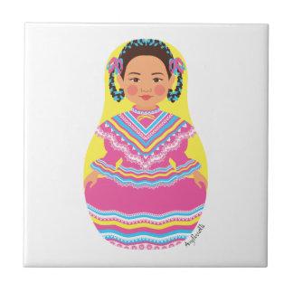 Teja mexicana de Matryoshka del bailarín