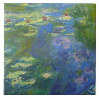 Teja modular dejada Lilly del agua de Monet