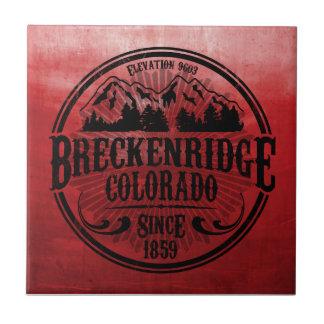 Teja negra radial vieja de Breckenridge