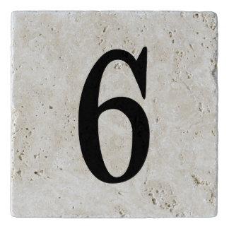 TEJA NUMÉRICA - SEIS ELEGANTE (número 6) ~.png Salvamanteles