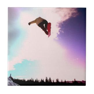 Teja o Trivet del aire de la snowboard