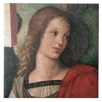 Teja o Trivet del arte del ángel del renacimiento