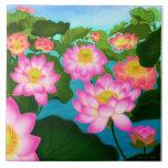 Teja oriental del jardín de Lotus
