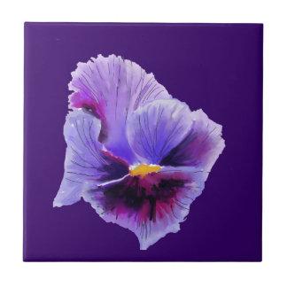 Teja púrpura del pensamiento
