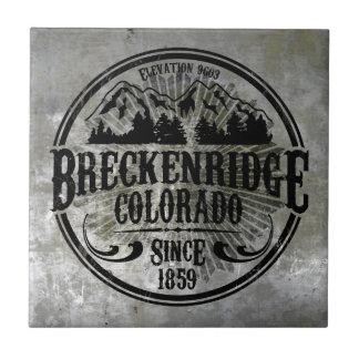 Teja radial vieja de Breckenridge
